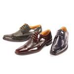 Giorgio Venturi Mens 6280 Navy Leather Oxford Dress Shoes