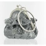 Helens Heart Womens FP-08196 Grey Sequin   Casual Handbags