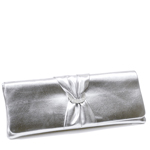 Touch Ups Womens Loretta Silver Synthetic   Evening and Prom Handbags