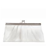 Touch Ups Womens Avery White Satin   Wedding Handbags
