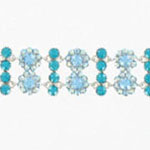 Jewelry by HH Womens JB-P001968 blue Beaded   Bracelets Jewelry