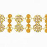 Jewelry by HH Womens JB-P001968 topaz Beaded   Bracelets Jewelry