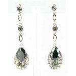 Jewelry by HH Womens JE-X001790 black Beaded   Earrings Jewelry