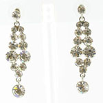 Jewelry by HH Womens JE-X001928 clear Beaded   Earrings Jewelry