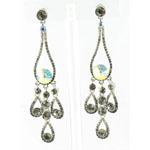 Jewelry by HH Womens JE-X002737 black diamond Beaded   Earrings Jewelry