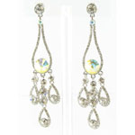 Jewelry by HH Womens JE-X002737 ab clear Beaded   Earrings Jewelry
