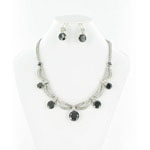 Jewelry by HH Womens NS-H003813 black Beaded   Necklaces Jewelry