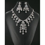 Jewelry by HH Womens NS-H1959 ab Beaded   Necklaces Jewelry
