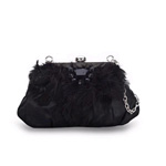 Feather Bag in Black