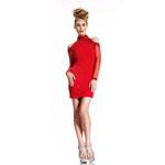 Johnathan Kayne Womens 402 Red Beaded  Prom Dresses