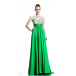 Johnathan Kayne Womens 500 AppleGreen Chiffon  Prom Dresses