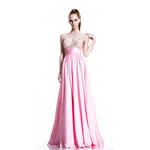 Johnathan Kayne Womens 500 PetalPink Chiffon  Prom Dresses