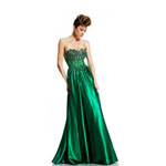 Johnathan Kayne Womens 416 Emerald Synthetic  Prom Dresses