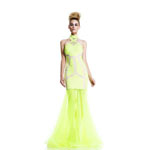 Johnathan Kayne Womens 577 NeonLime Jersey  Prom Dresses