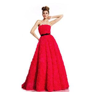 Johnathan Kayne Womens 408 Fuchsia Chiffon  Prom Dresses