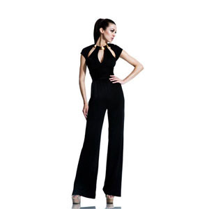Johnathan Kayne Womens 550 Black Jersey  Prom Dresses