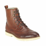 Giovanni Mens 6598 Cognac Leather Boot Dress Shoes