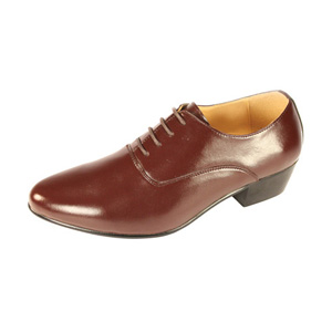Ditalo Mens 5633 Brown Leather Oxford Dress Shoes