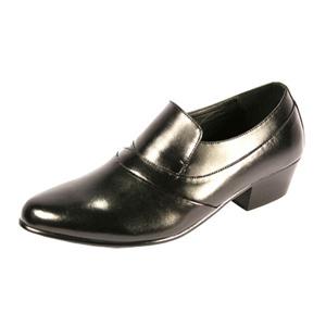 Ditalo Mens 5634 Black Leather Oxford Dress Shoes