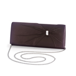 Dyeables Womens 1805 Chocolate Satin   Wedding Handbags