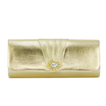 Dyeables Womens 3613 Gold Synthetic   Evening and Prom Handbags