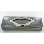 Helens Heart Womens FP-2491 Grey Fabric   Casual Handbags
