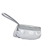Touch Ups Womens Emily Silver Synthetic   Evening and Prom Handbags