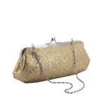 Touch Ups Womens Farah Silver/Gold Synthetic   Evening and Prom Handbags