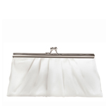 Touch Ups Womens Avery White Satin   Wedding Handbags