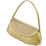 Touch Ups Womens Lori Gold Synthetic   Evening and Prom Handbags
