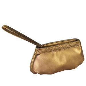 Touch Ups Womens Emily Bronze Synthetic   Evening and Prom Handbags