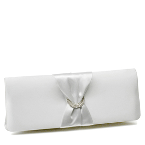 Touch Ups Womens Loretta White Synthetic   Evening and Prom Handbags