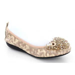 Helens Heart Womens CFW-2014-3 Taupe Synthetic Sandals Casual Shoes