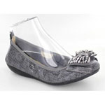 Helens Heart Womens CFW-GO-2 Grey Synthetic Sandals Casual Shoes