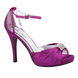 Helens Heart Womens FS-A8818-45 Purple Synthetic Sandals Prom and Evening Shoes