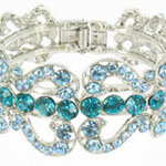 Jewelry by HH Womens JB-PD00337 turquoise Beaded   Bracelets Jewelry