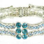 Jewelry by HH Womens JB-PD00338 turquoise Beaded   Bracelets Jewelry