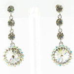 Jewelry by HH Womens JE-X001831 clear Beaded   Earrings Jewelry