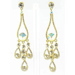 Jewelry by HH Womens JE-X002737 clear Beaded   Earrings Jewelry