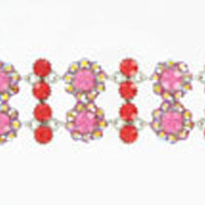 Jewelry by HH Womens JB-P001968 red Beaded   Bracelets Jewelry
