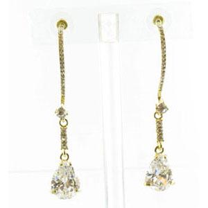 Jewelry by HH Womens JE-X003116 clear Beaded   Earrings Jewelry