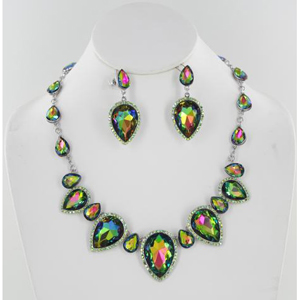 Jewelry by HH Womens NS-KM001 Volcano Beaded   Necklaces Jewelry