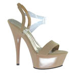 Johnathan Kayne Womens Suntan Taupe Synthetic Sandals Pageant Shoes