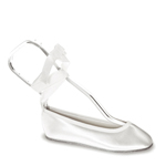 Touch Ups Girls Gypsy White Satin Ballet Flower Girls Shoes