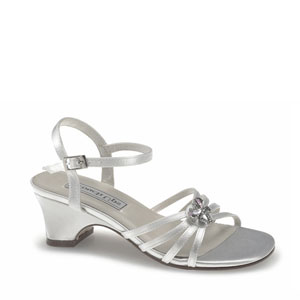 Satin girls sandals style betsy by touch ups touch ups girls betsy white satin sandals flower girls shoes mightylinksfo
